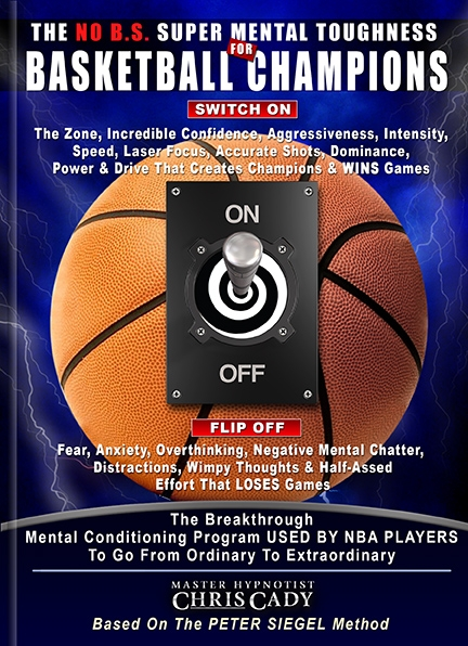 basketball mental toughness training with hypnosis program MP3 CD DOWNLOAD
